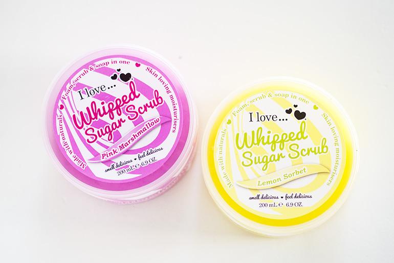 I Love... Whipped Sugar Scrub