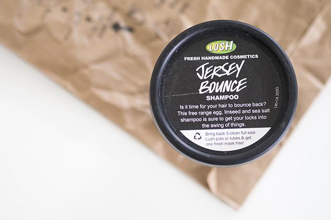 LUSH Jersey Bounce -shampoo