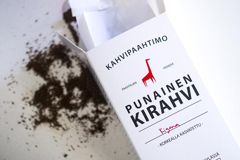 Punainen Kirahvi kahvi