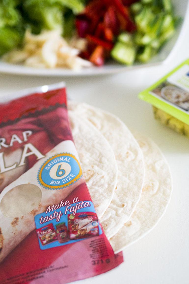 Helppo arkiruoka: Tortillat