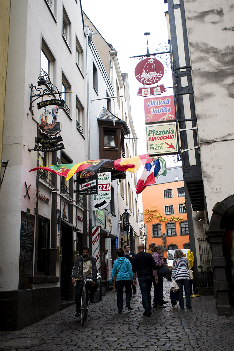 Köln Cologne Old town