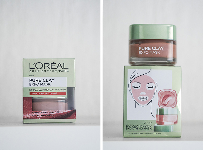 L'Oréal Pure Clay Exfo Mask