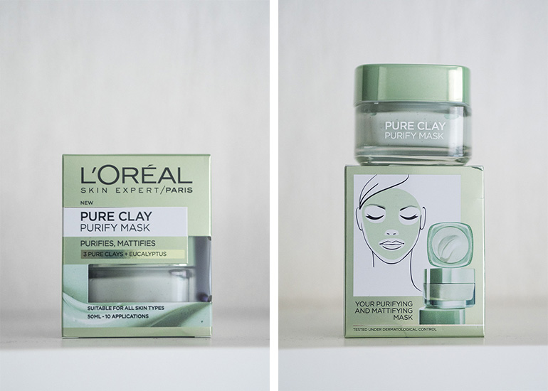 L'Oréal Pure Clay Purify Mask