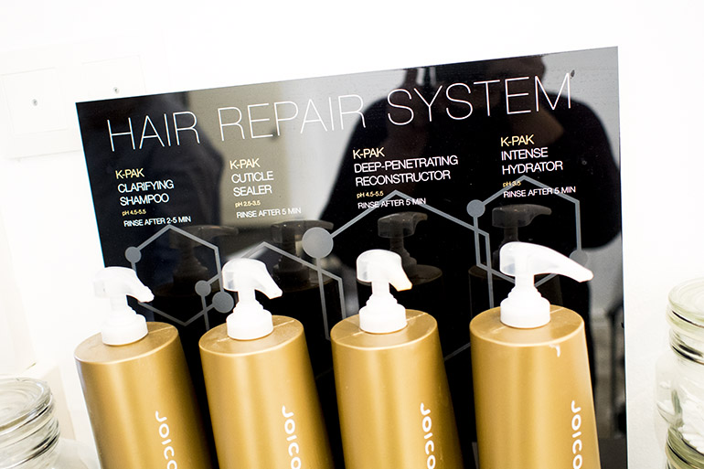 Joico hair repair system