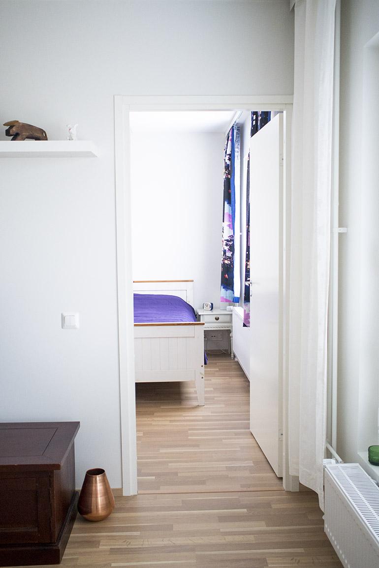 hometour koti esittely makuuhuone