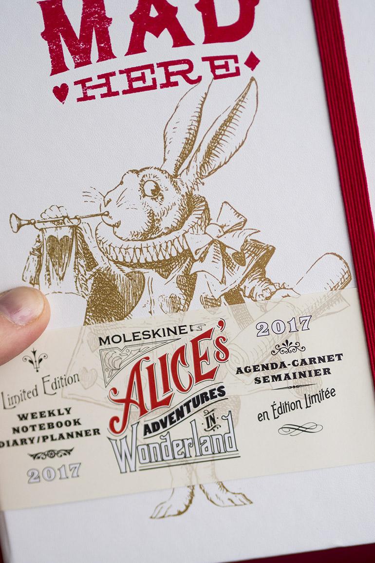 Moleskine Alive in Wonderland weekly planner