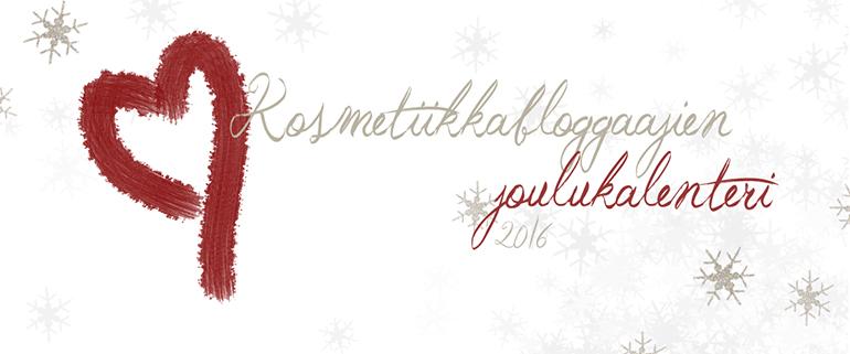 Kosmetiikkabloggaajien joulukalenteri