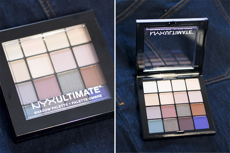 NYX Ultimate Eyeshadow Palette Cool Neutrals