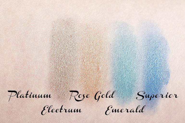 Models Own Colour Chrome eyeshadow palette