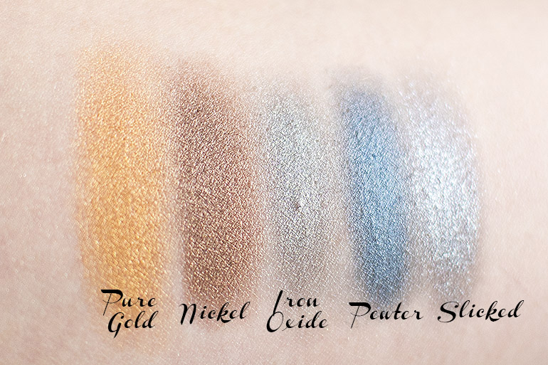 Models Own Colour Chrome eyeshadow palette