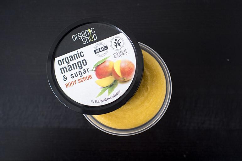 Organic Shop Kenyan Mango body scrub
