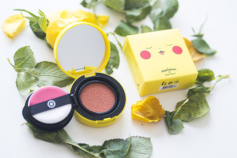 TonyMoly x Pokémon Pikachu Blush