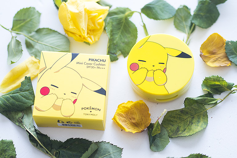 TonyMoly x Pokémon Pikachu Foundation