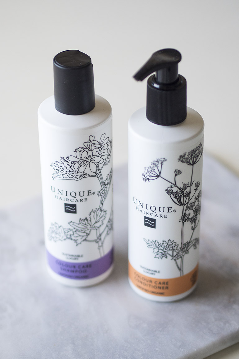 Unique Haircare Colour Care shampoo conditioner