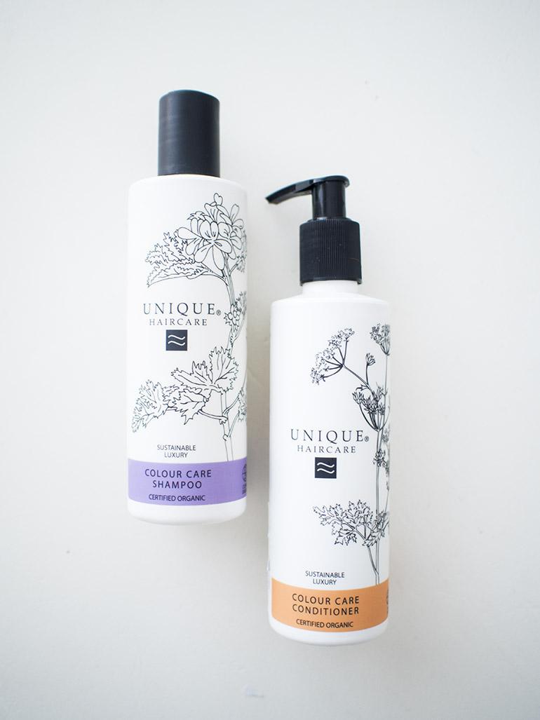 Unique Haircare Colour Care shampoo conditioner