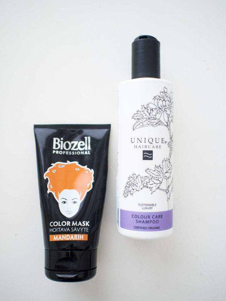 Biozell Color Mask Copper Unique Haircare Coloured Hair Shampoo