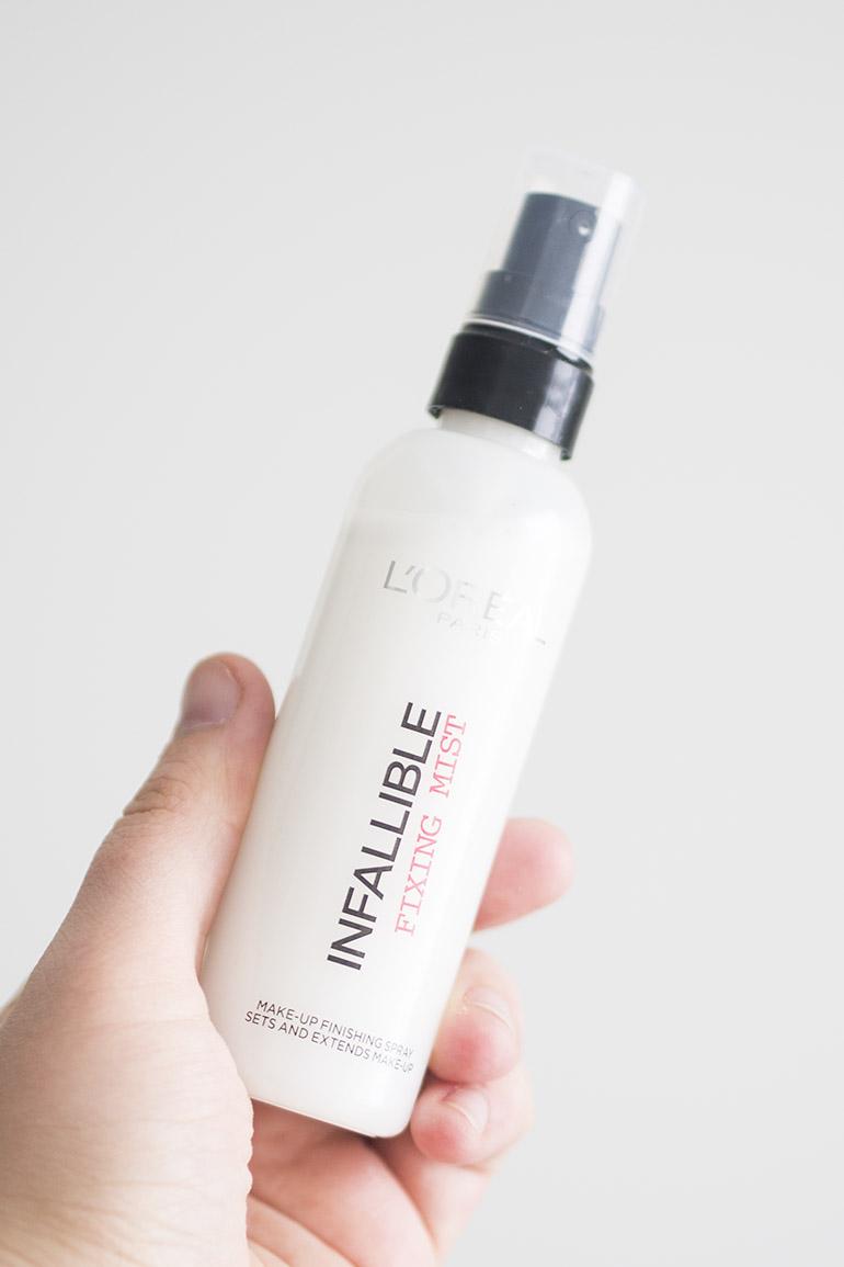 L'Oréal Infallible Fixing Mist viimeistelysuihke