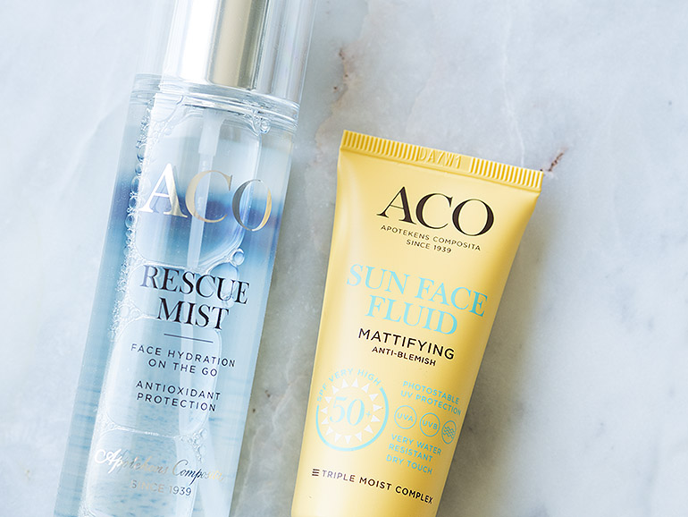 Aco Sun Face Fluid Mattifying Rescue Mist