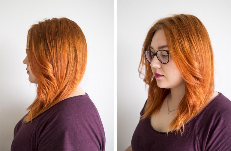 Hiusten kasvatusprosessi