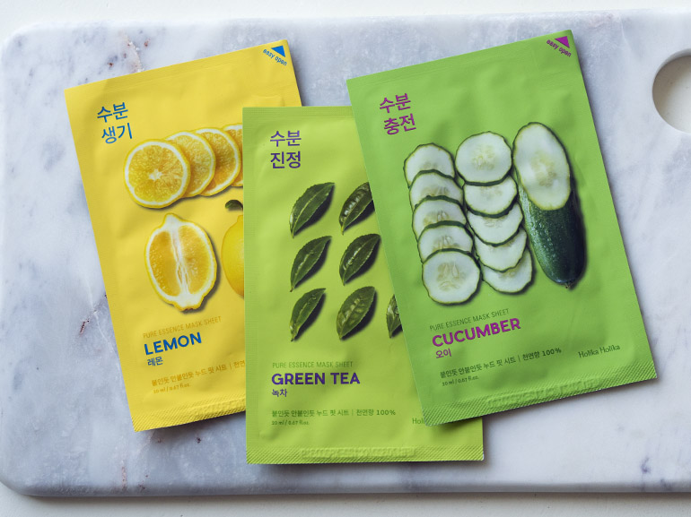 Sheet mask kangasnaamio Holika Holika