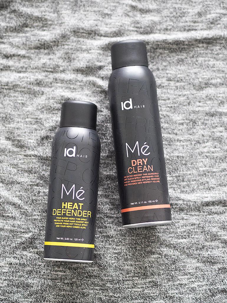 idHAIR Mé Heat Defender & Mé Dry Clean