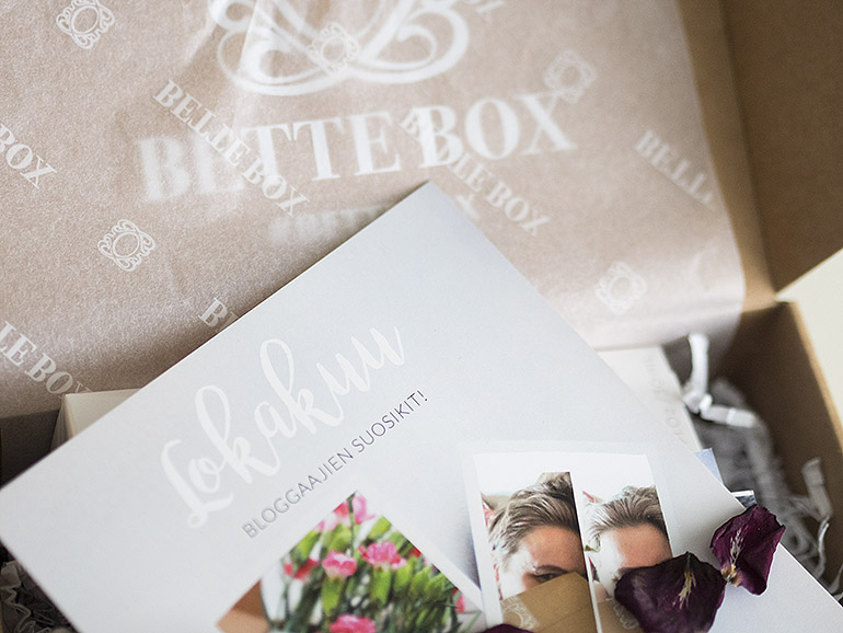 Bette Box Bloggaajaboxi Lokakuu 2017