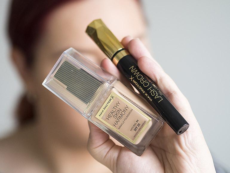 Max Factor Healthy Skin Harmony meikkivoide Lash Crown ripsiväri