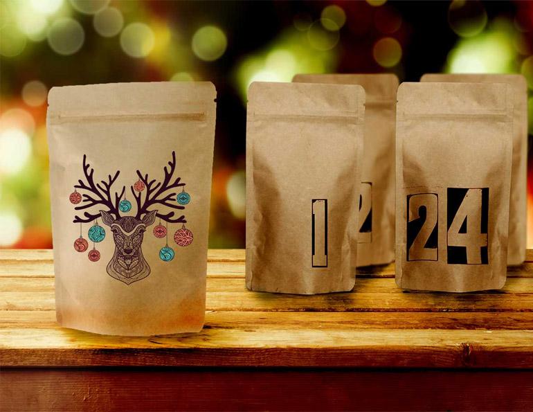 Miesten joulukalenteri kahvikalenteri