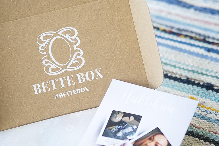 Bette Box Huhtikuu 2018