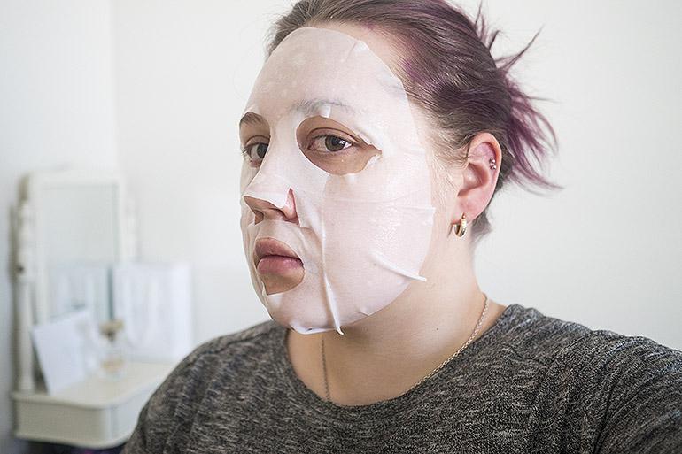 It's Skin The Fresh -kangasnaamio