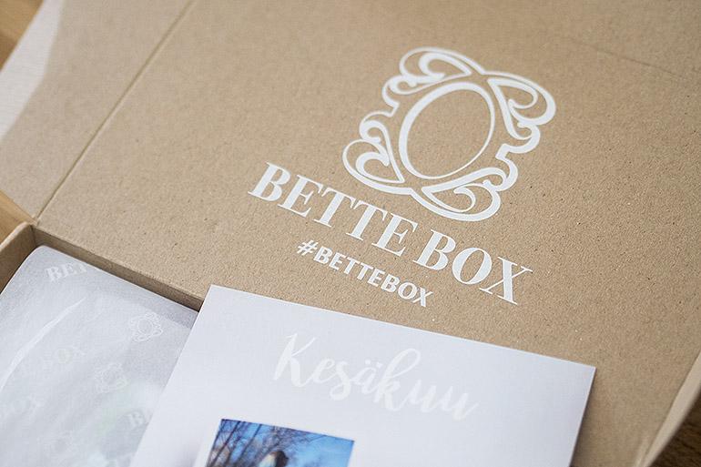 Bette Box Kesäkuu 2018