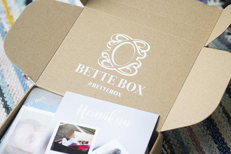 Bette Box Heinäkuu 2018