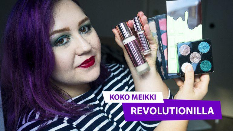 Koko meikki Revolutionilla