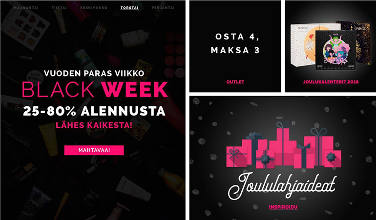 Cocopanda.fi Black Friday