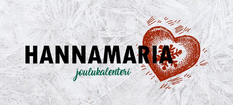 hannamaria joulukalenteri 2018