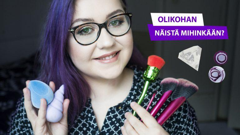 Söpöt meikkivälineet