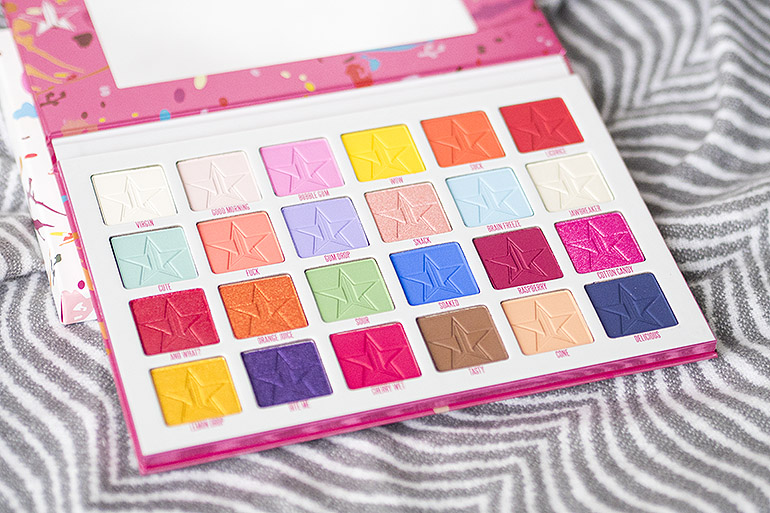 Jeffree Star Cosmetics Jawbreaker -paletti
