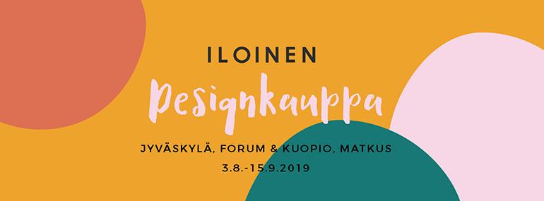 Menovinkit Jyväskylä 14.9. Iloinen designkauppa Designkaverit