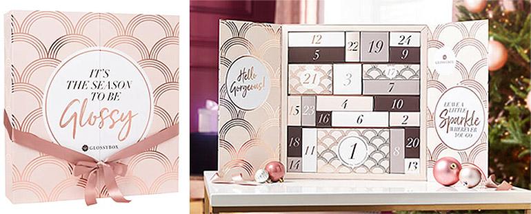 Glossybox joulukalenteri 2019