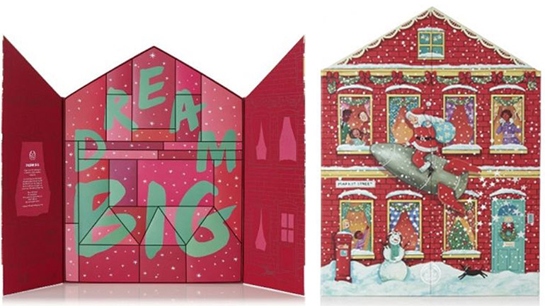 The Body Shop Dream Big This Christmas Deluxe Advent Calendar