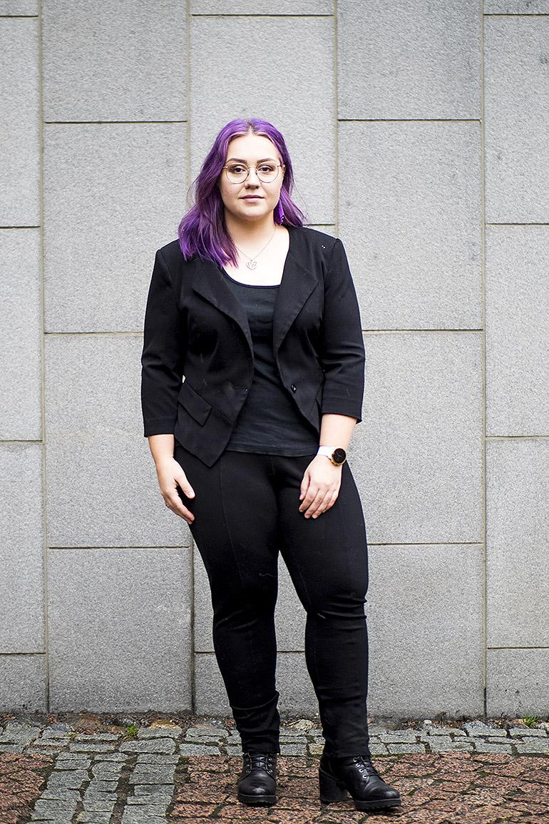 90kg Joulukuu Vila jakku musta