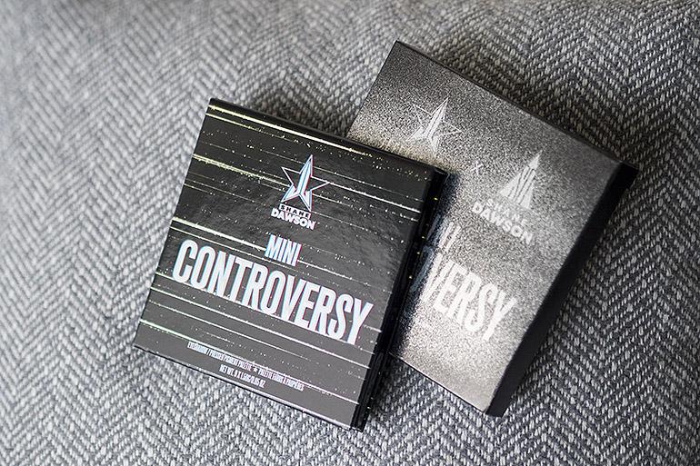 Jeffree Star Cosmetics x Shane Dawson: Mini Controversy -paletti