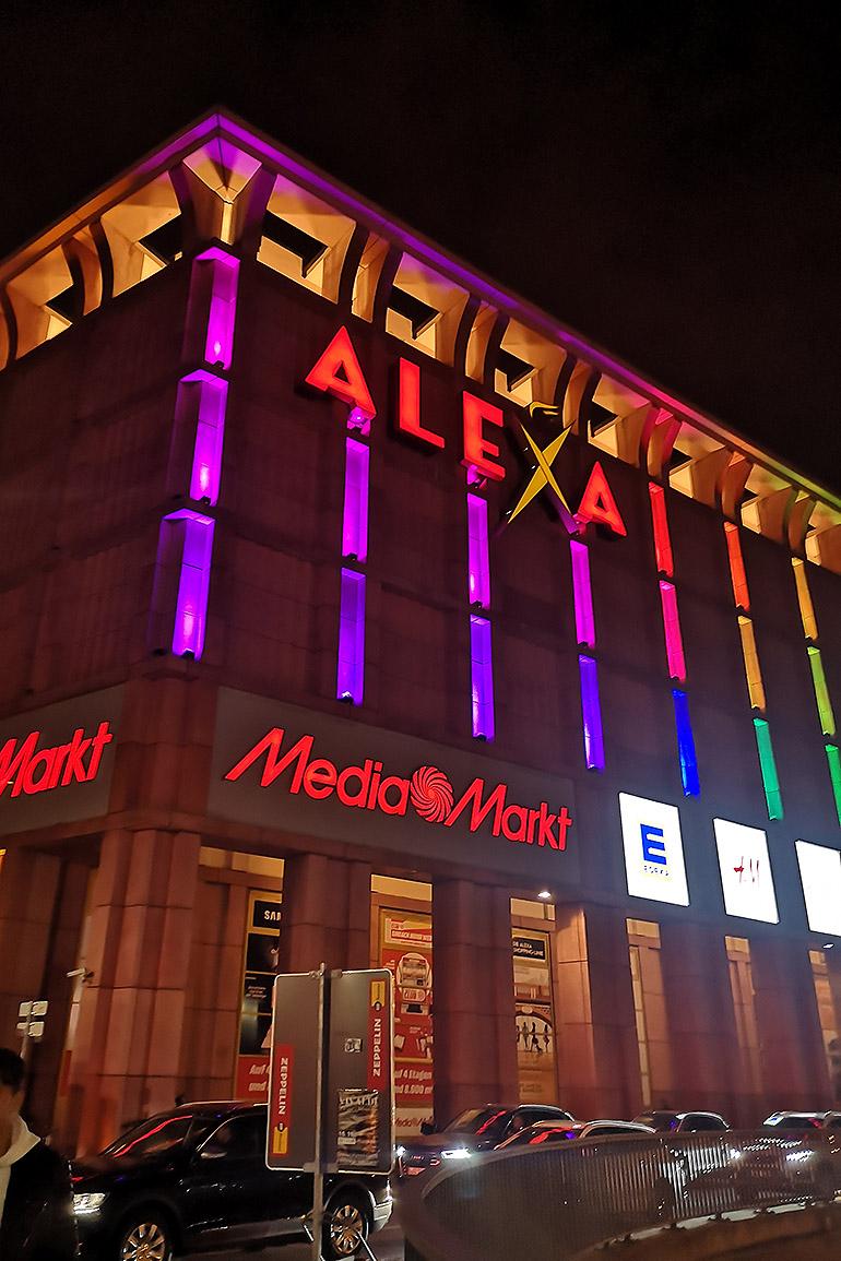 Alexa ostoskeskus Berliini