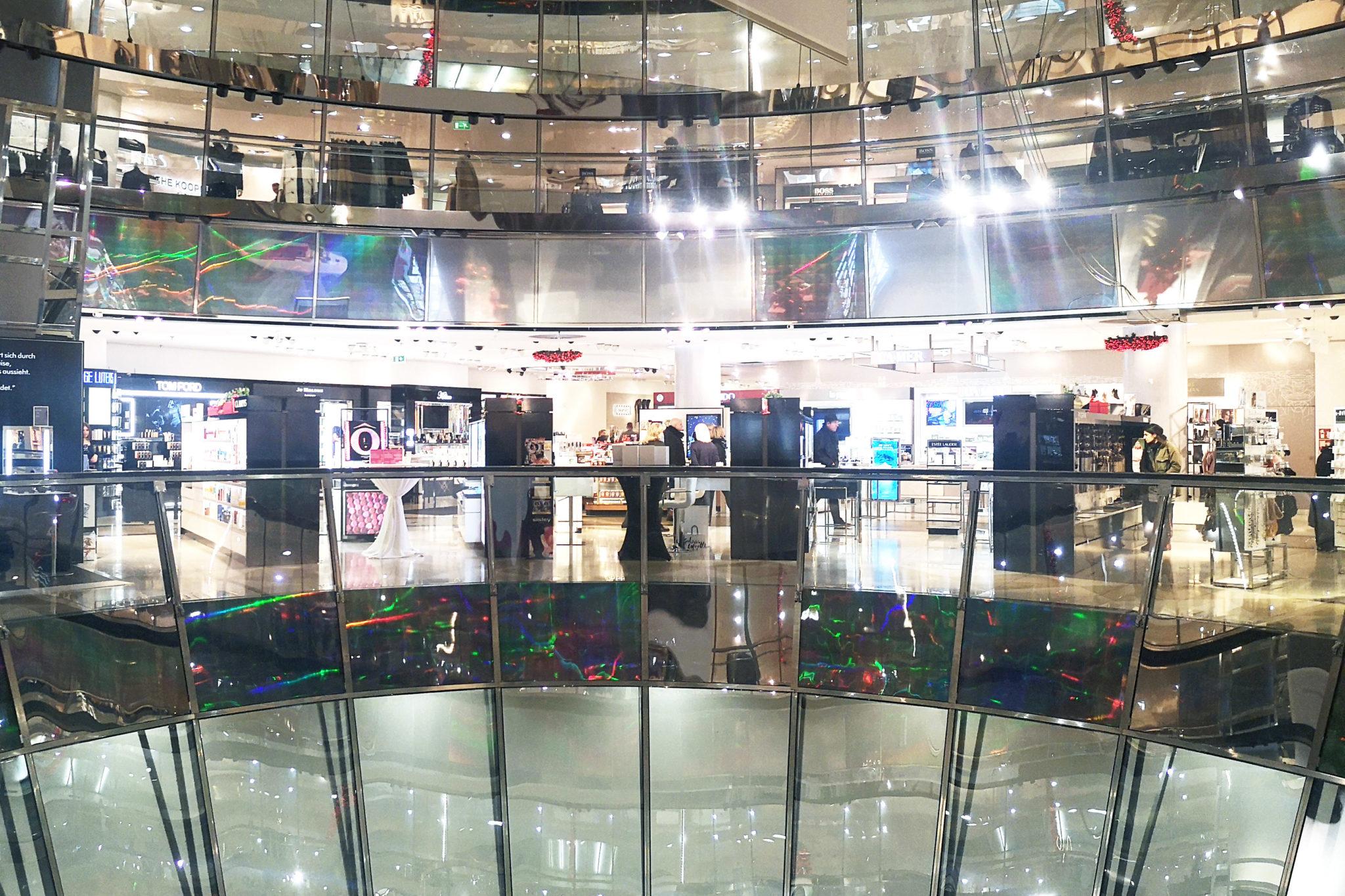 Galeries Lafayette ostoskeskus Berliini