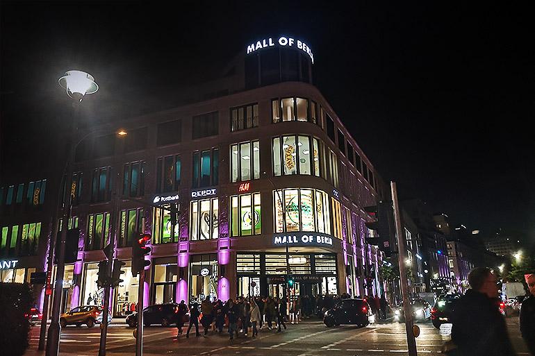 Mall of Berlin ostoskeskus Berliini