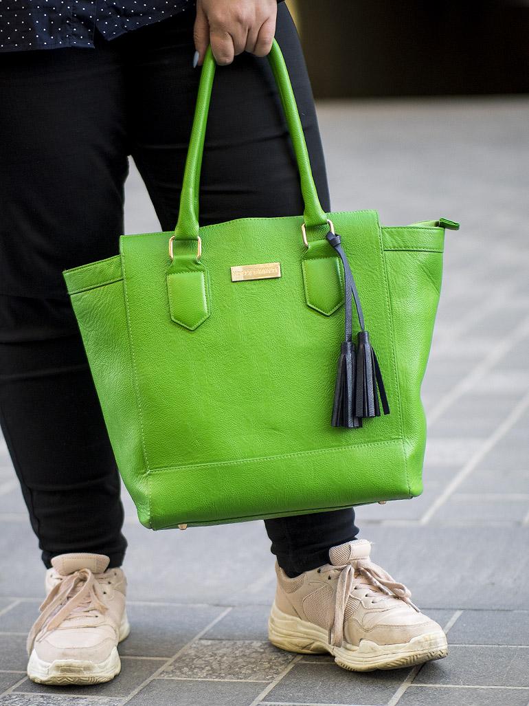 Lindex Holly & Whyte vihreä laukku
