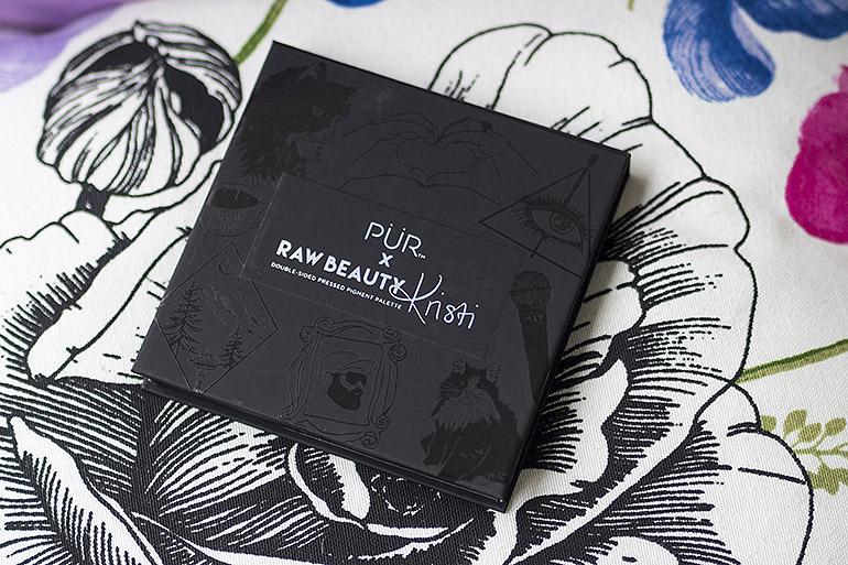 PÜR x Raw Beauty Kristi -paletti