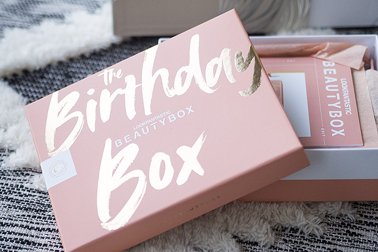 Lookfantastic Beauty Box syyskuu 2020 synttäriboksi