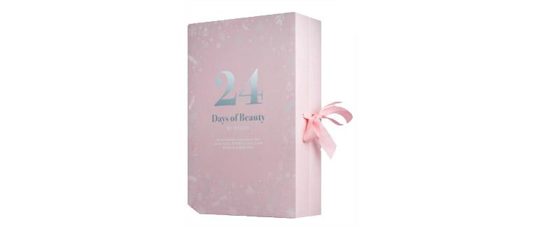 Beauty Advent Calendar 24 Days of Beauty by KICKS