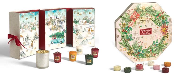 Yankee Candle -joulukalenterit